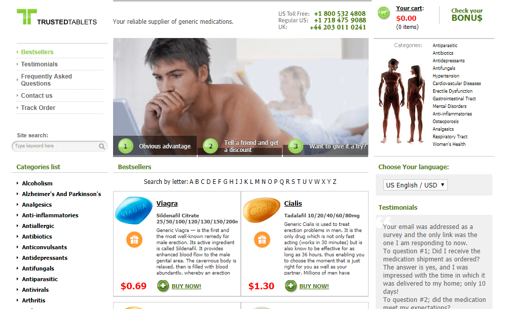 Trusted Tablets Site
